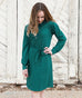 The MEGAN dress in Emerald