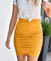 The OPHELIA skirt in Mustard
