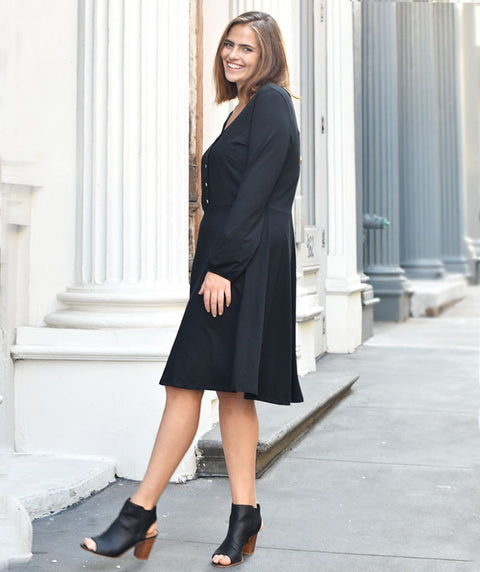 The WASHINGTON dress in Black