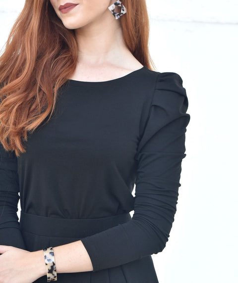 The AUDREY top in Black