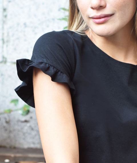 The SADIE tee in Black