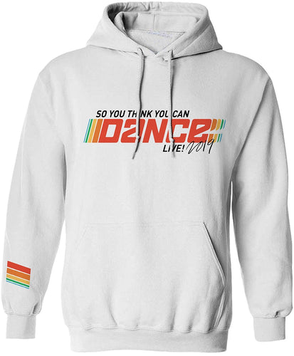 So You Think You Can Dance Live 2019 White Pullover Hoodie