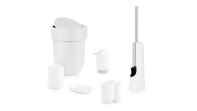 touch toilet brush (white)