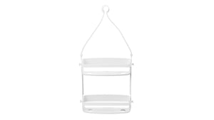 flex shower caddy (white)