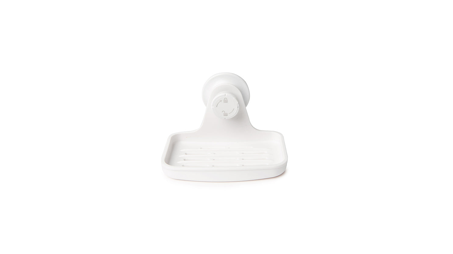 flex gel lock soap dish