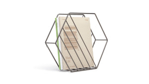 zina magazine rack/record holder