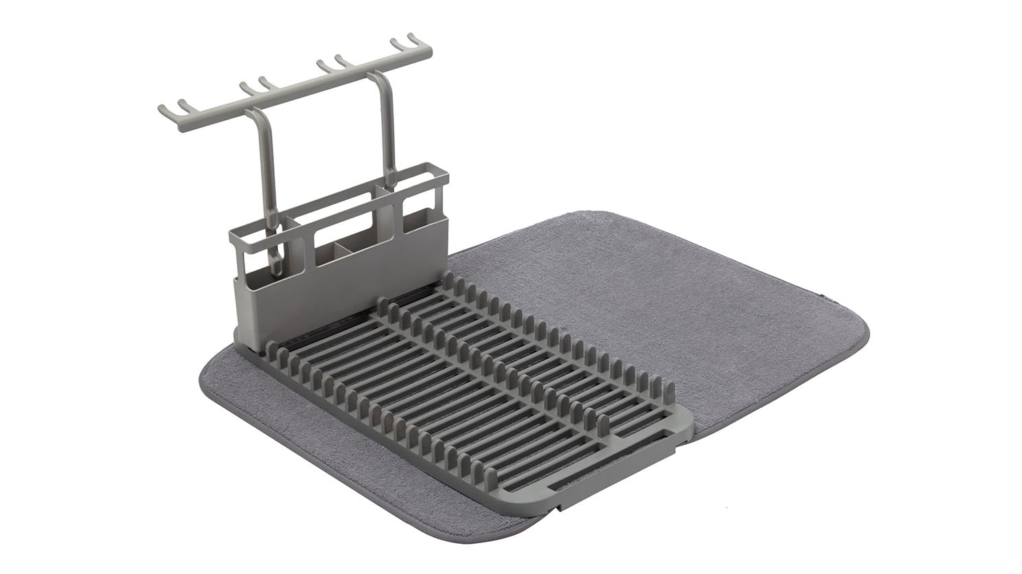 udry dish rack with drying mat