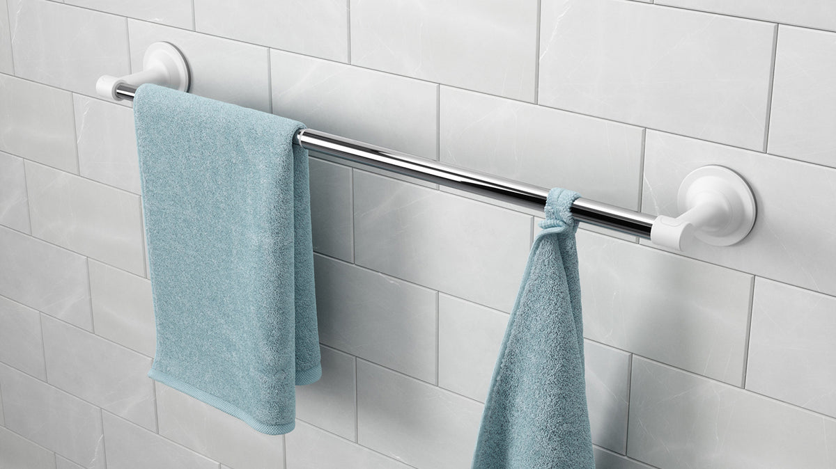 flex sure-lock towel bar