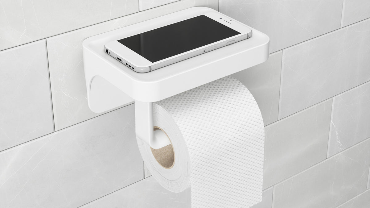 flex sure-lock toilet paper holder