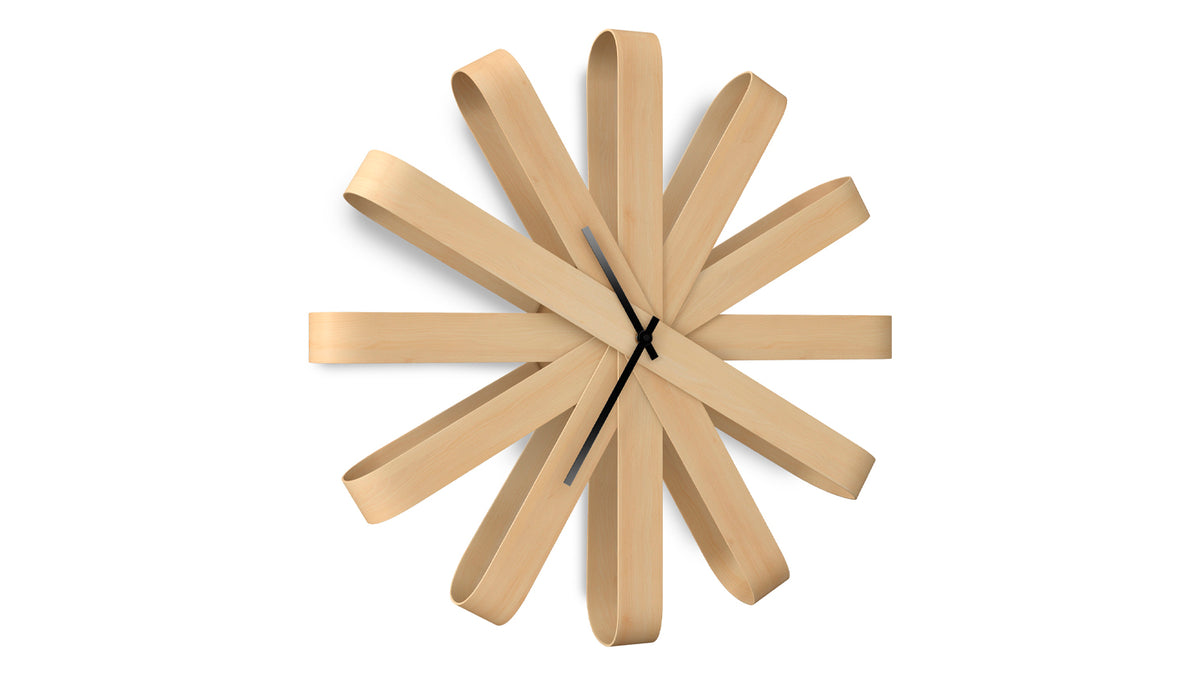 ribbonwood wall clock