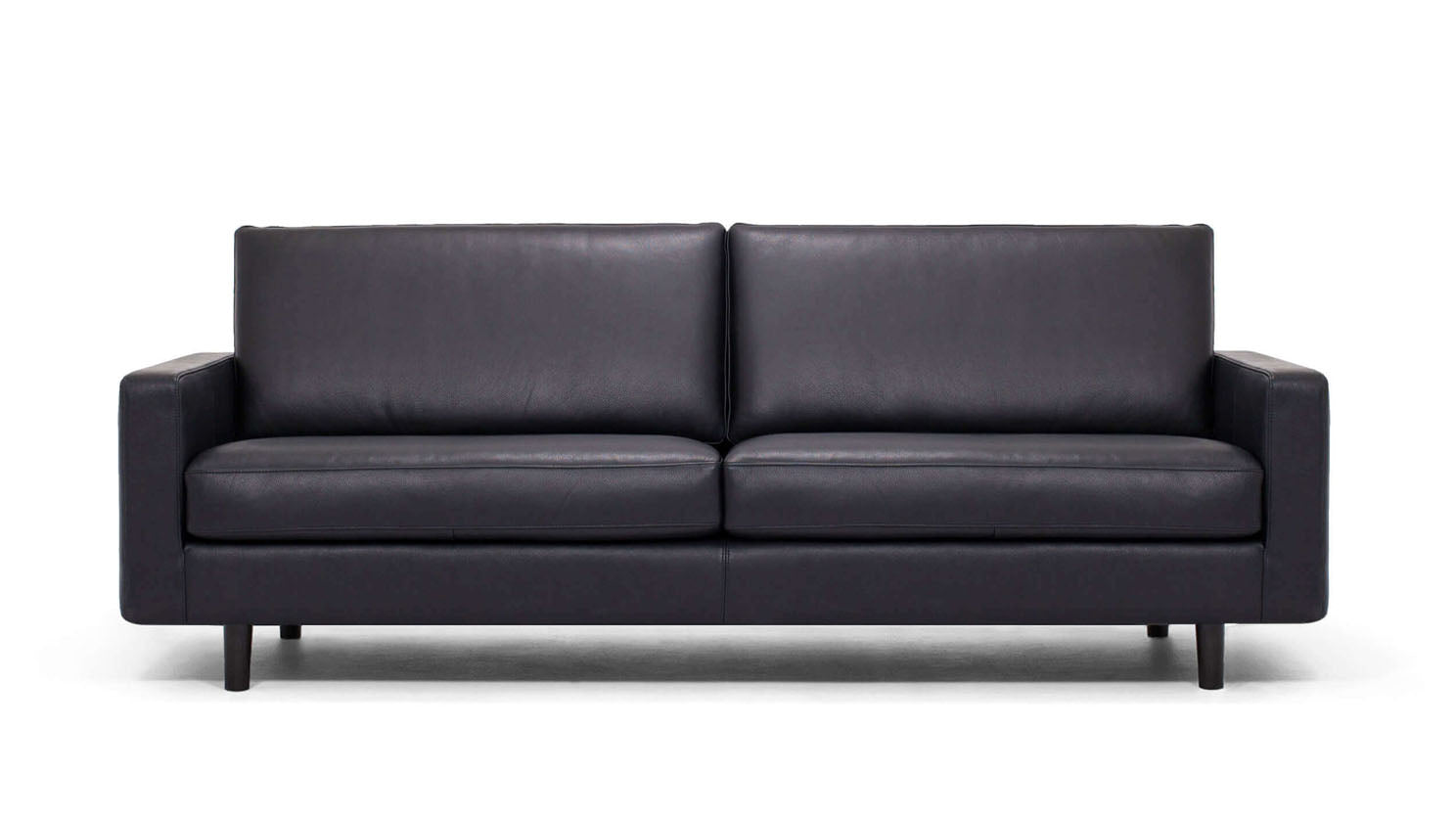 "oskar 85"" sofa - leather"