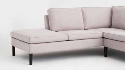 skye 2-piece sectional - fabric