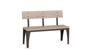 "architect 44"" bench (wood seat/wood back)"