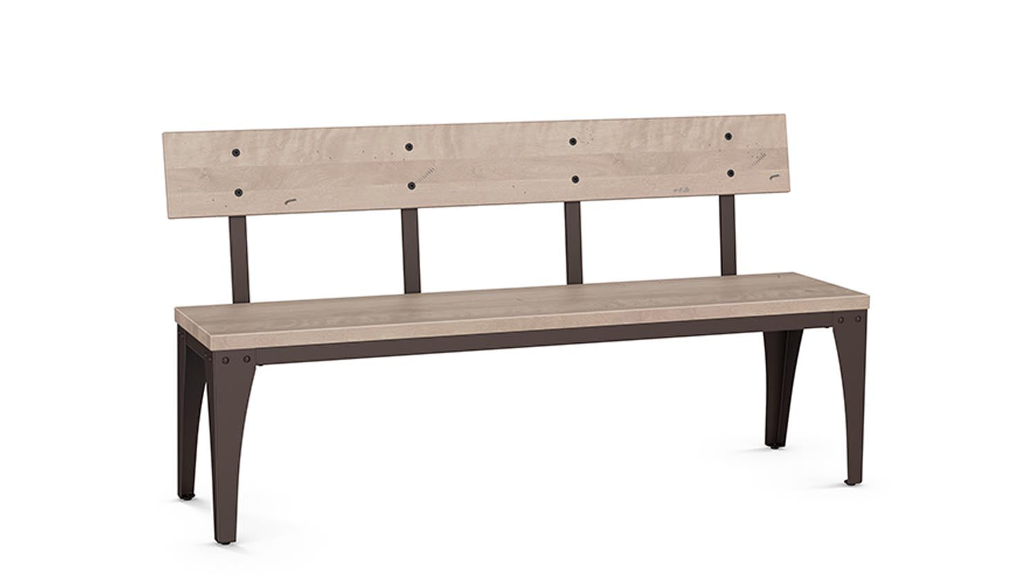 "architect 60"" bench (wood seat/wood back)"