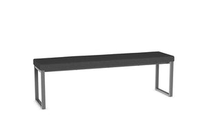 "dryden 60"" bench (cushion seat)"