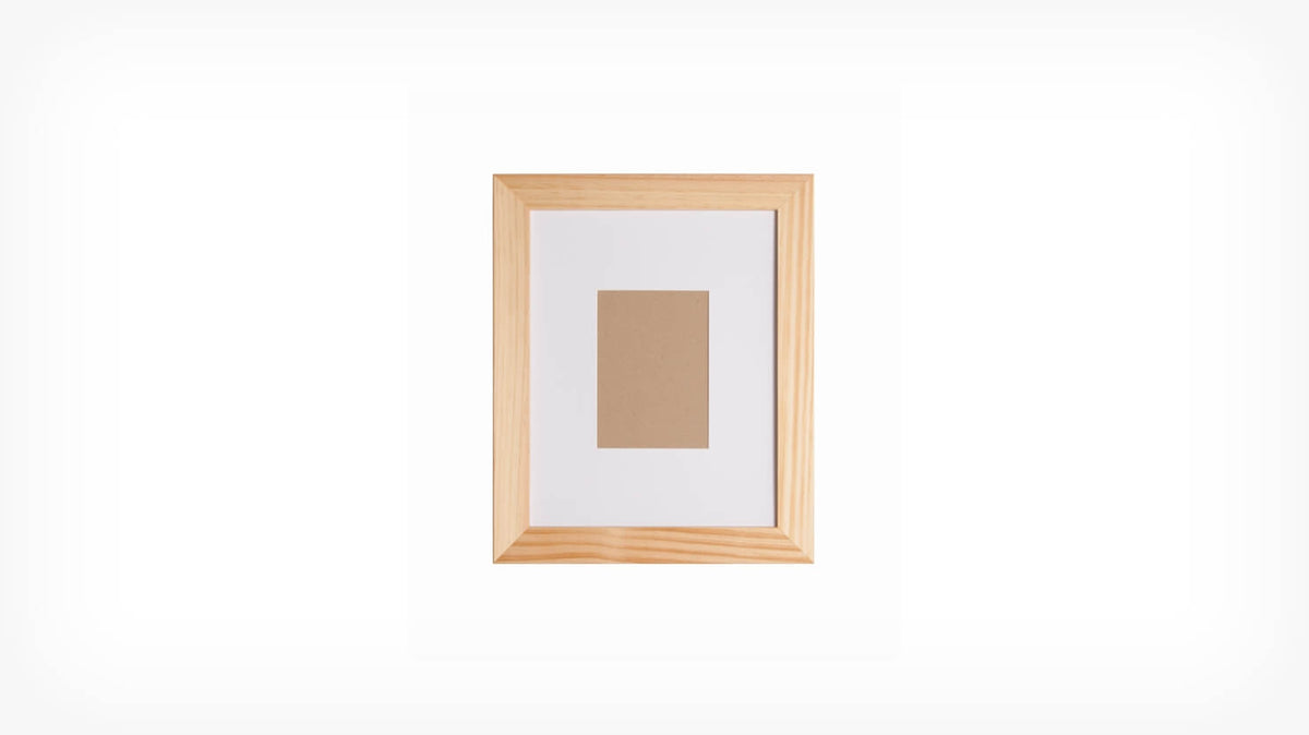 edge frame small (natural)