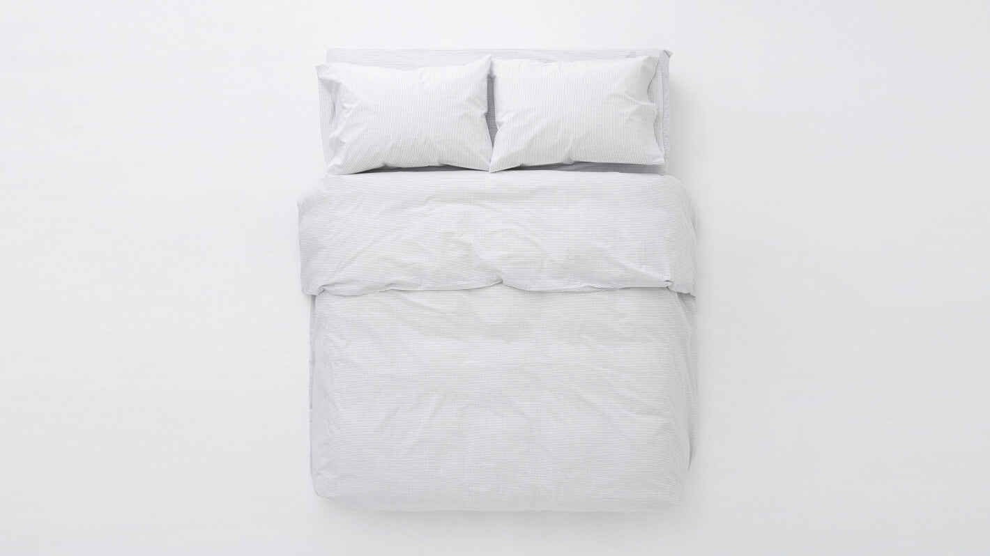 grid duvet set