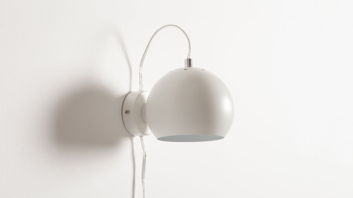 ball wall lamp (white)