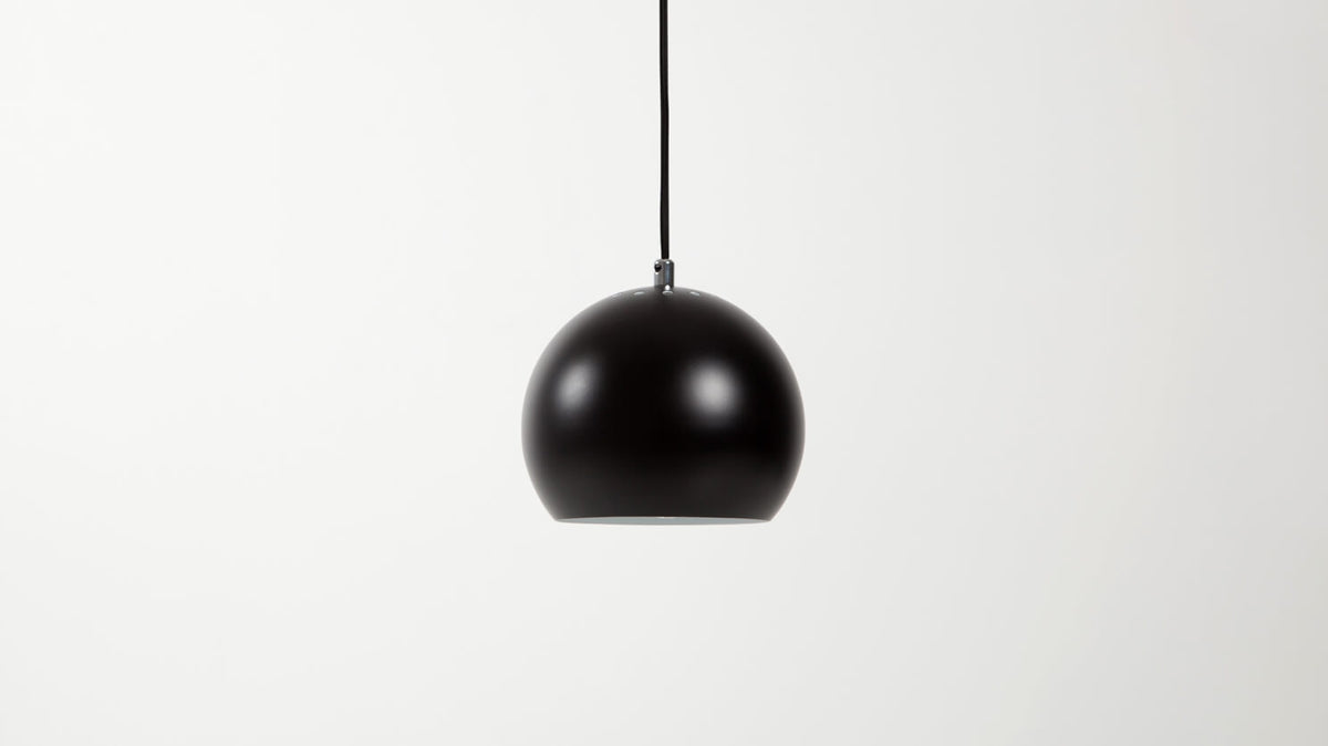 ball pendant lamp (black)