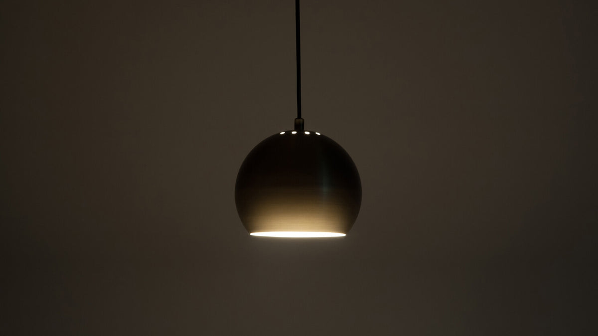 ball pendant lamp (brass)