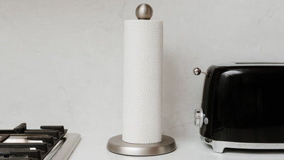 teardrop paper towel holder
