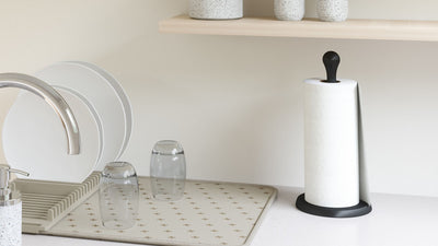 tug paper towel holder