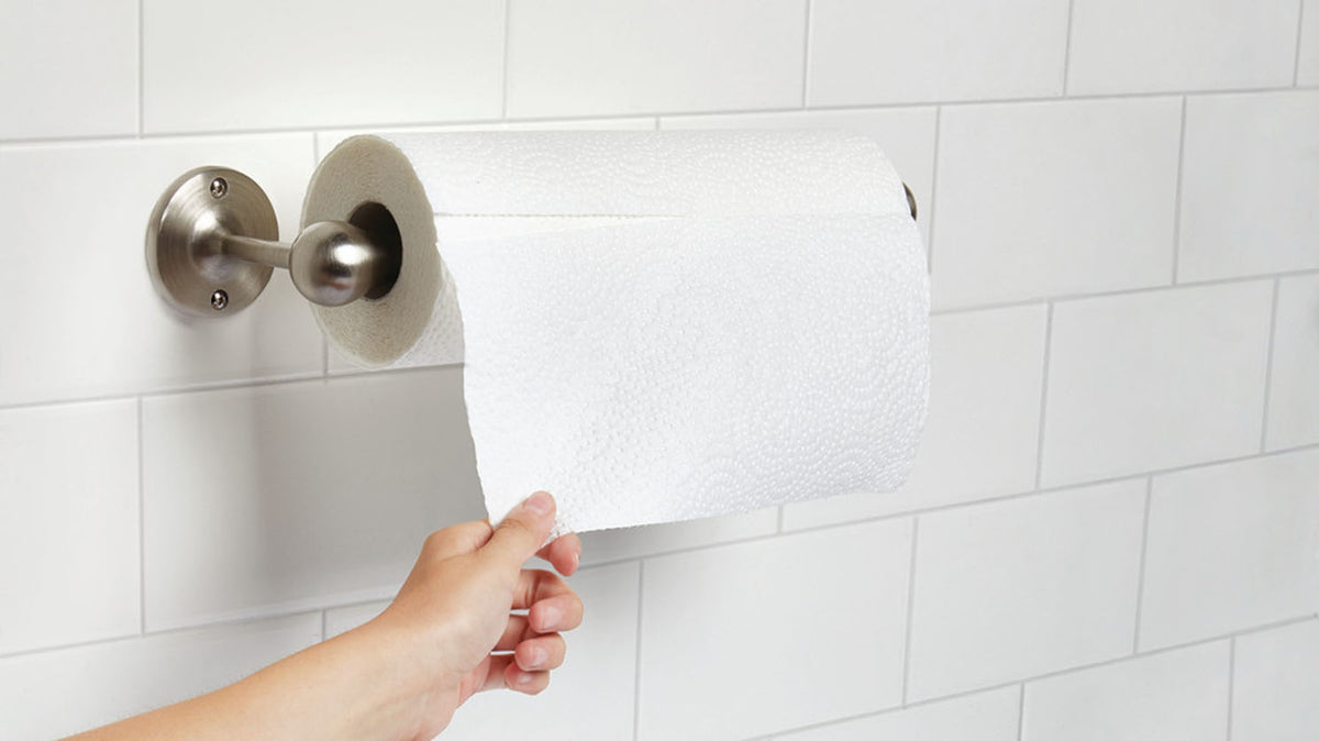 tug wall mounted paper towel holder