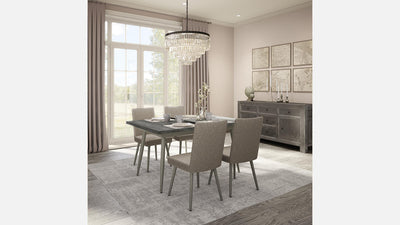 belleville extension dining table