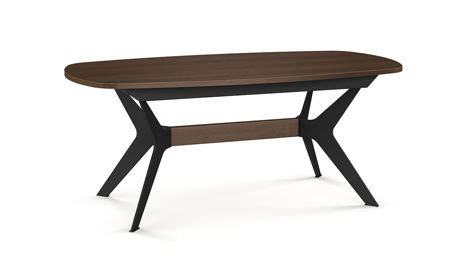 boomerang extension dining table