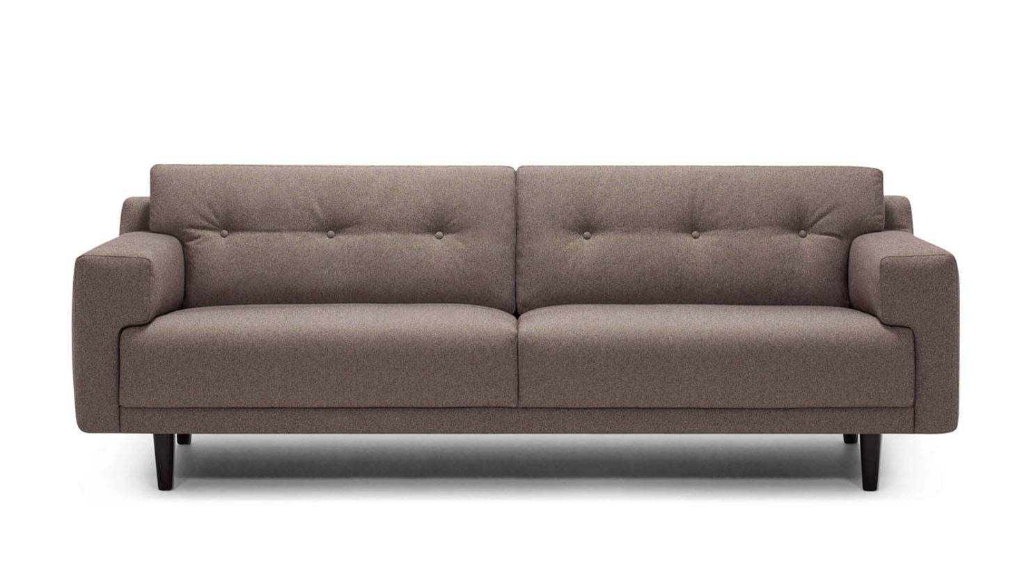 "remi 87"" sofa (button) - fabric"