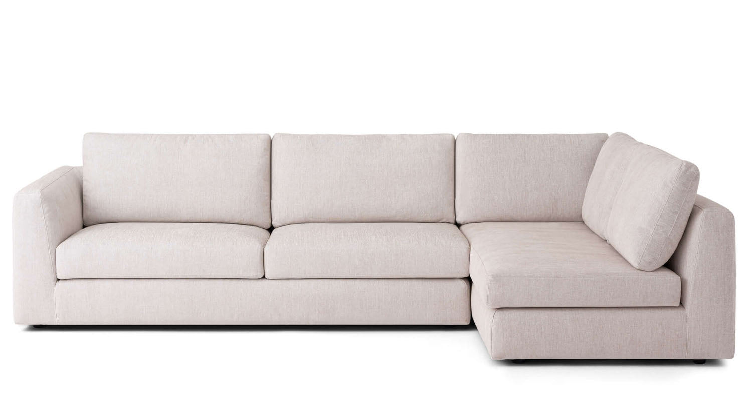 cello 2-piece sectional - fabric