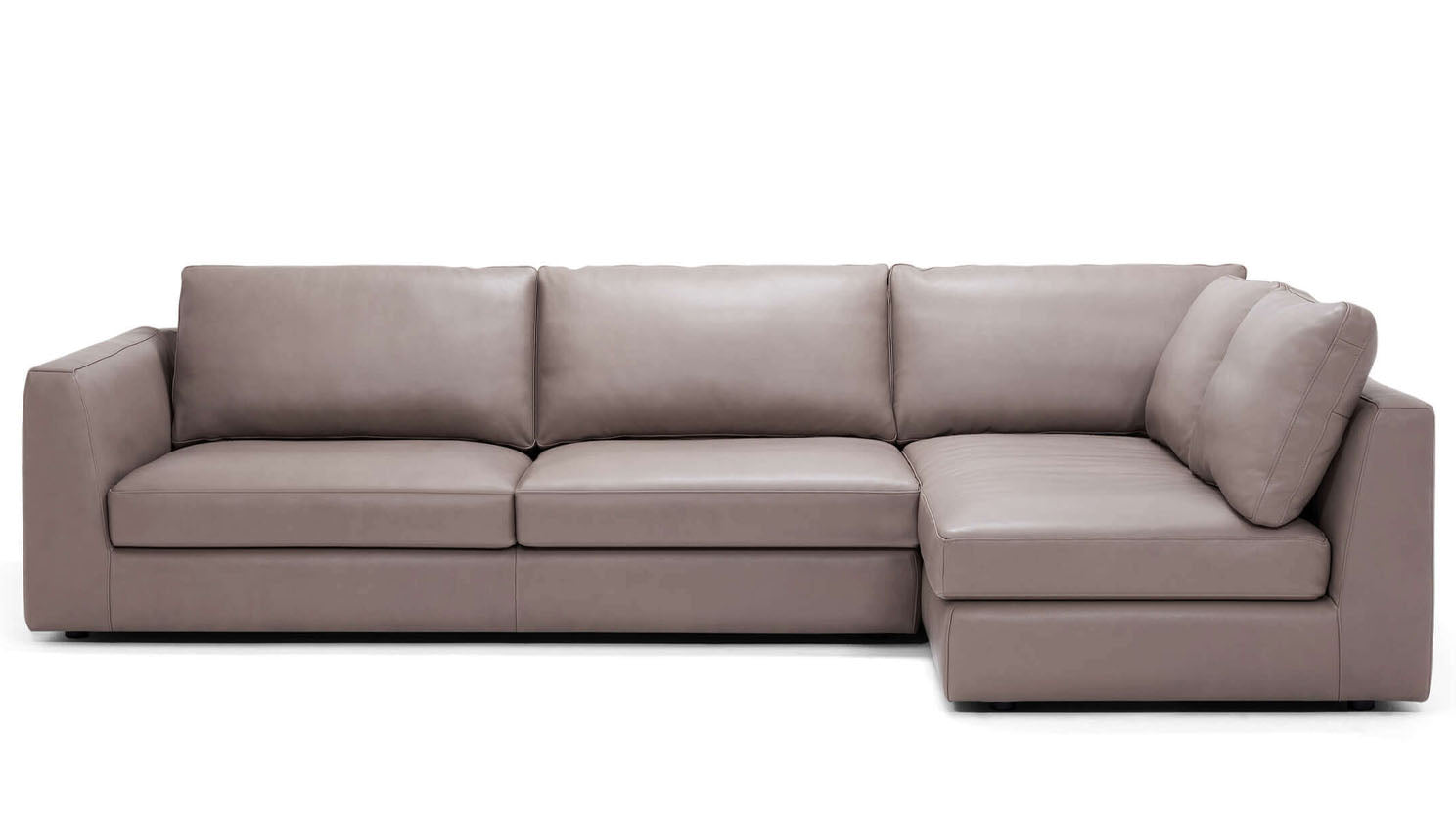 cello 2-piece sectional - leather