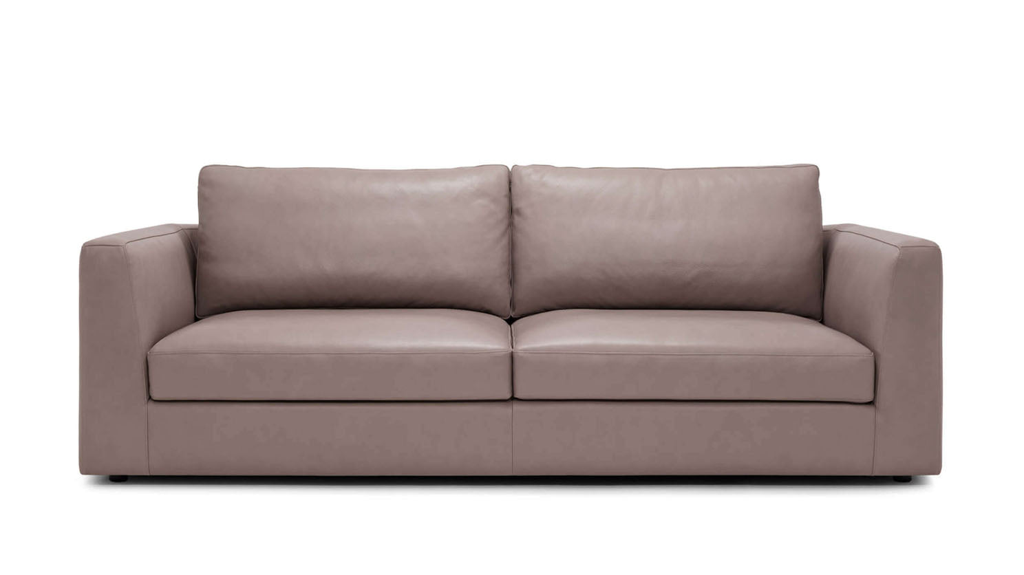 "cello plush 88"" sofa - leather"