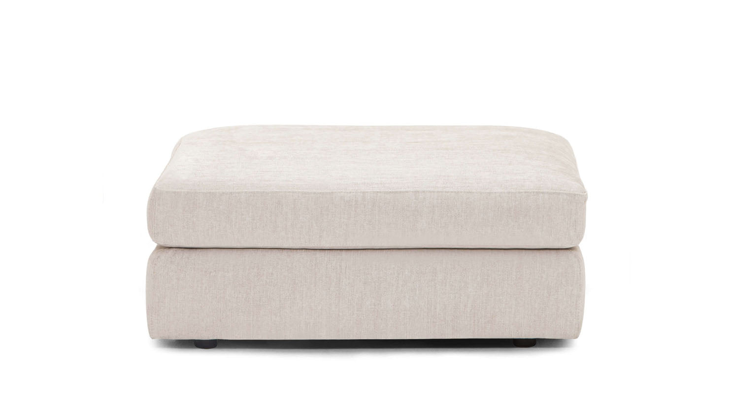 cello modular ottoman - fabric