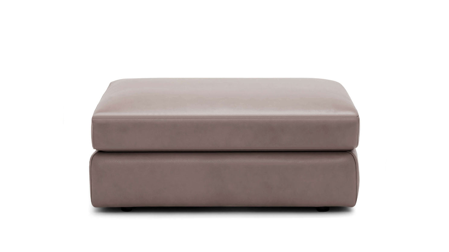 cello modular ottoman - leather