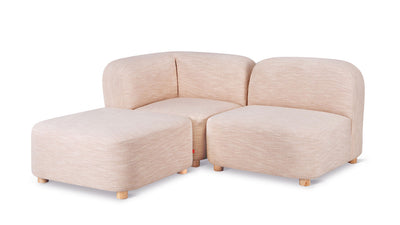 circuit modular 3-piece sectional