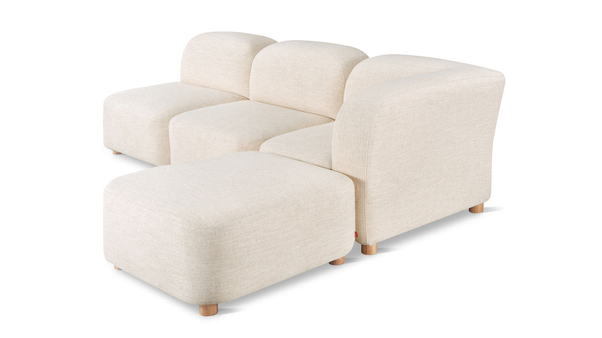 circuit modular 4-piece sectional