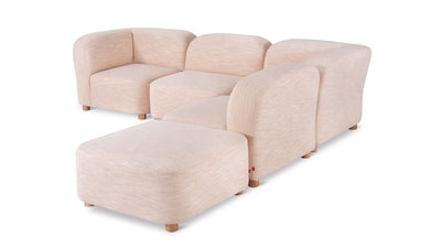 circuit modular 5-piece sectional