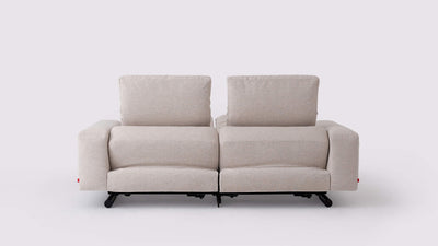 era 2-piece reclining sofa - fabric
