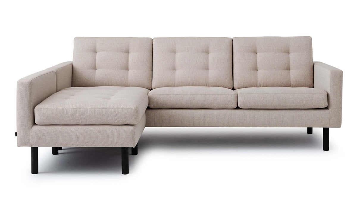 joan 2-piece sectional - leather