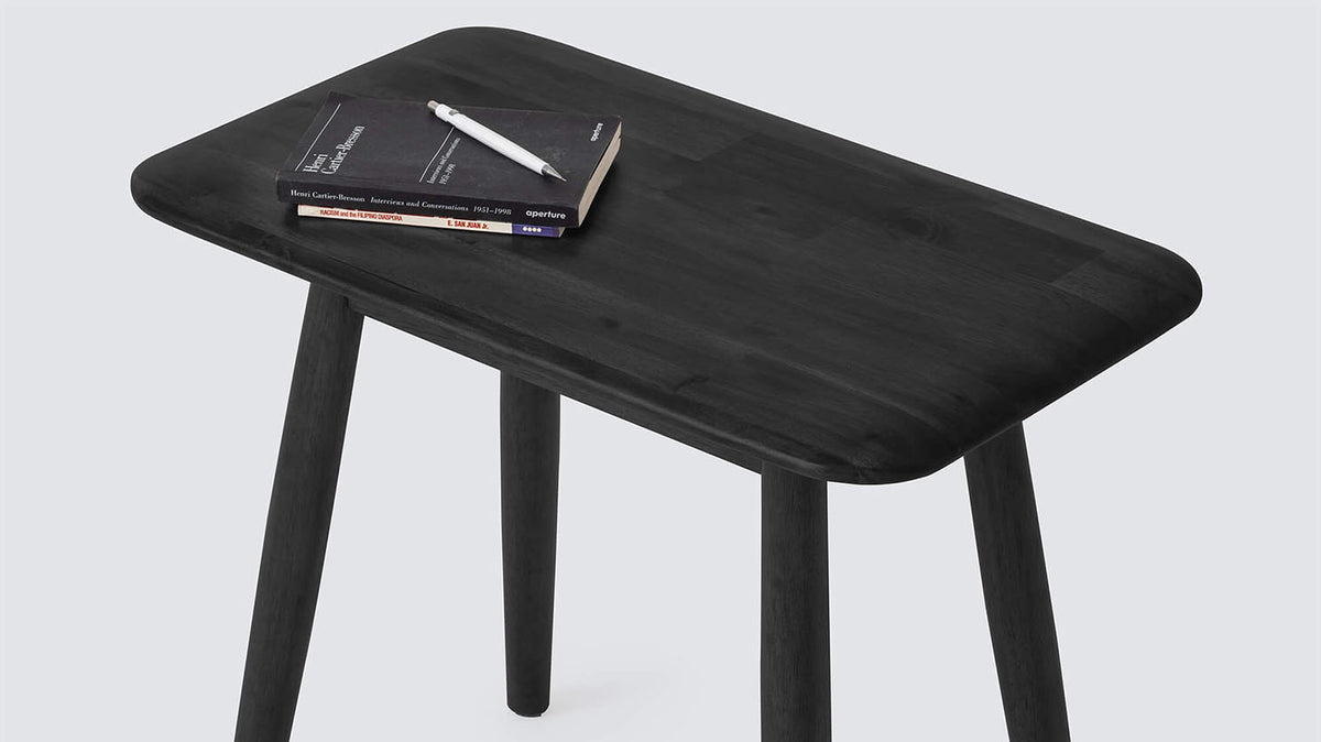 kacia rectangular end table
