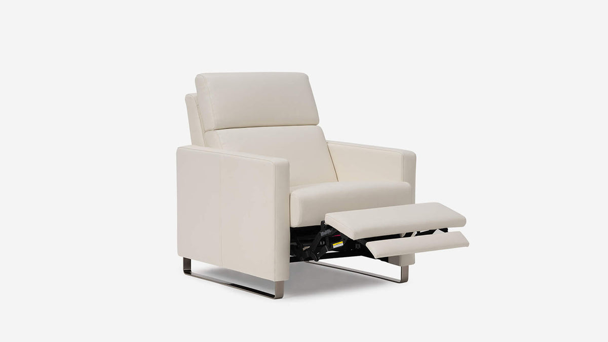 lawrence reclining chair - leather