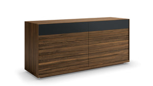 mimosa double dresser (glass drawer front)