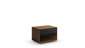 mimosa 1 drawer nightstand (glass drawer front)