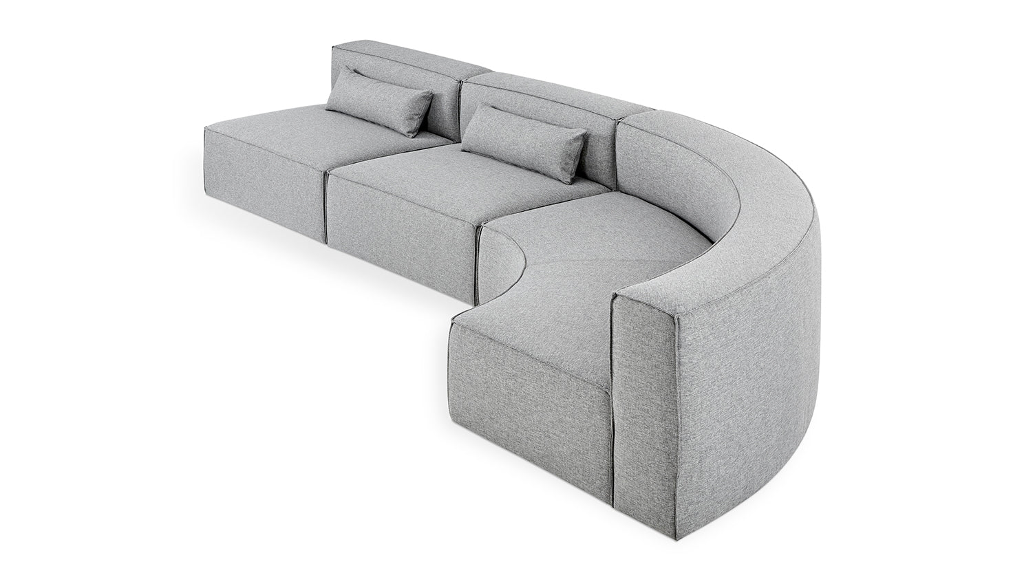 mix modular 3-piece sectional