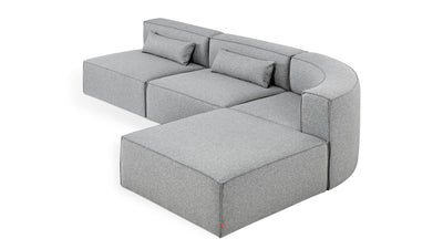 mix modular 4-piece sectional