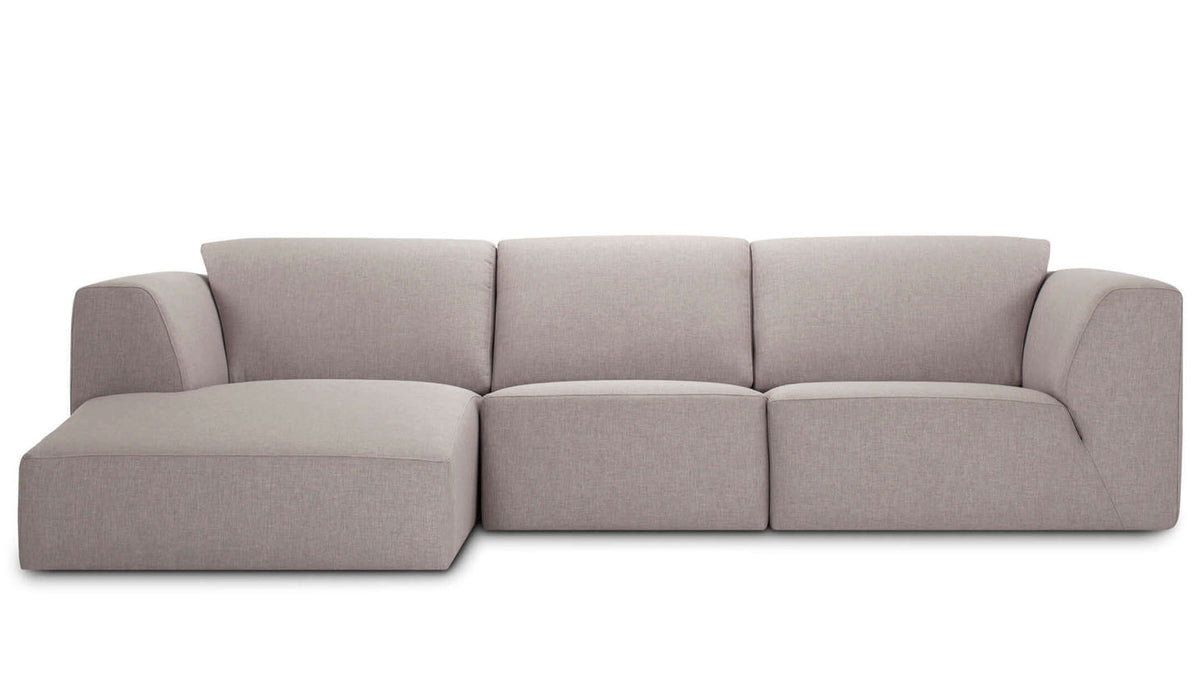 morten 3-piece sectional - fabric