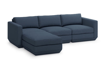 podium 4-piece sectional