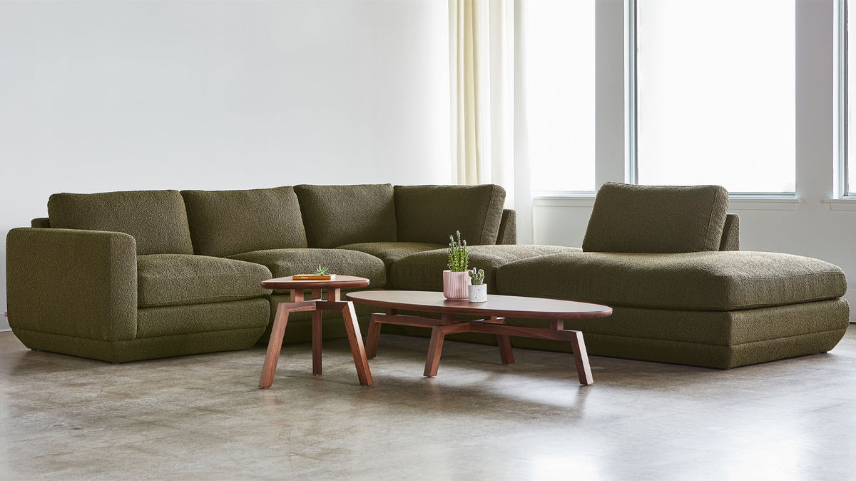 podium 5-piece sectional