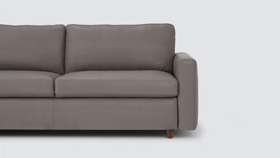 reva storage sofa - leather